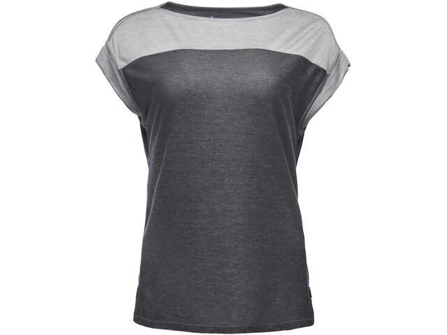 Black Diamond Cottonwood T-paita Naiset, nickel